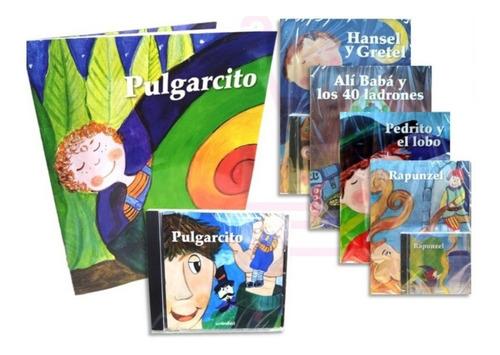 Imagen 1 de 1 de Cuentos Infantiles Clásicos Pack 5 Audiocuentos + Canciones