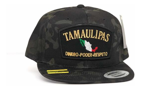 Gorra Yupoong Multicam Línea Estado Tamaulipas Snapback