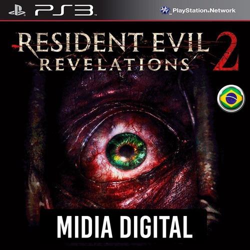 Ps3 Psn* - Resident Evil Revelations 2 Temporada Completa