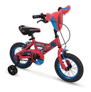 Huffy 12 Y 16 Marvel Spiderman Boys Bike Con Ruedas De Entre