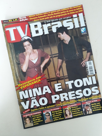 Tv Brasil 152 Eliane Giardini Sandy Junior Galisteu Leonard