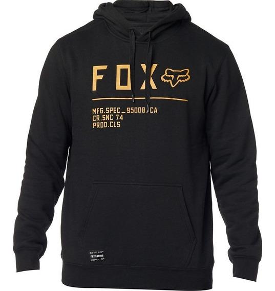 Sudadera Fox Pullover Non Stop Negro