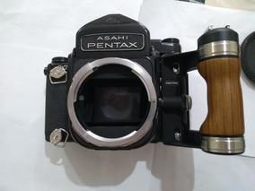 Camera Antiga Pentax Asahi 6x7 C/ 02 Lentes Baixei Só Fds