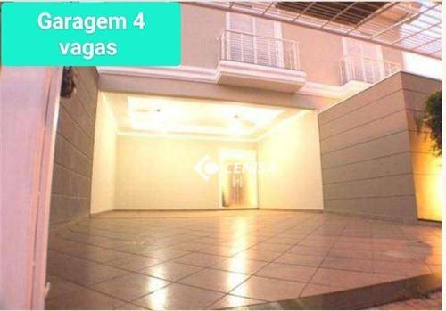Imagem 1 de 19 de Casa Com 5 Dormitórios À Venda, 265 M² - Jardim Esplanada - Indaiatuba/sp - Ca2450