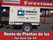 Renta De Generadores Electricos, Planta De Luz,