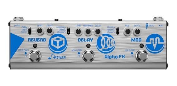 Pedaleira Guitarra Donner Mini Alpha Fx Delay / Modulação