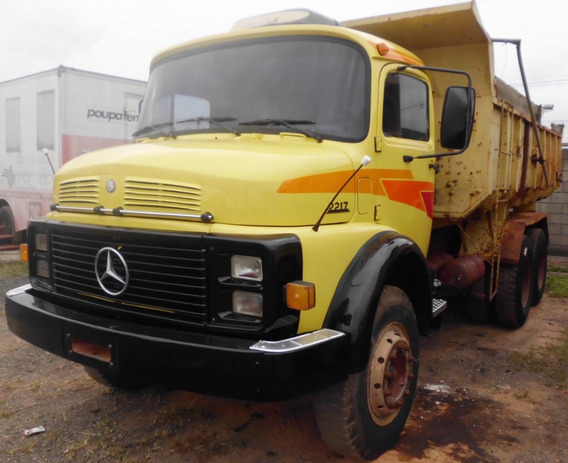 M Benz 2217 Traçado Caçamba Basculante Reduzido 1990