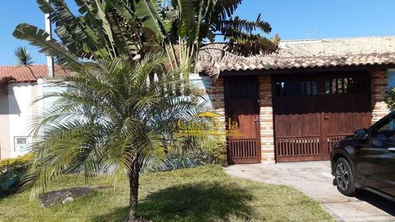Casa Com 3 Dormitórios Para Alugar, 180 M² Por R$ 1.500/dia - Jardim Suarão - Itanhaém/sp - Ca2454