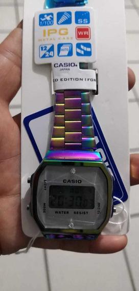 Relojes Casio Unisex ( Tornasol, Negro, Rosa Gold Oro Y Mas