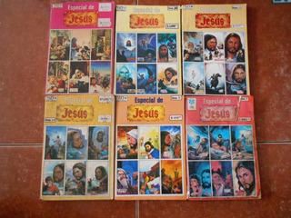 Lote D 6 Historieta Especial De Jesus Tpb Comic Antiguo Vid