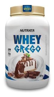 Whey Grego 900 G - Nutrata - Isolado E Concentrado