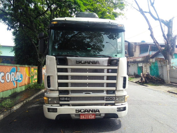 Scania 124 400 6x4 Bug Leve Ano 2002