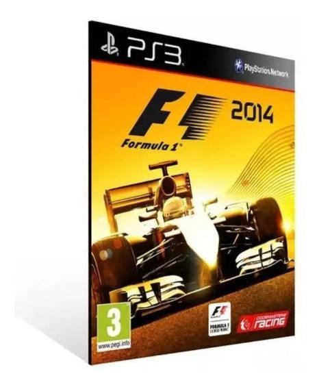 Formula 1 2014 F1 2014 Ps3 Psn Envio Rápido