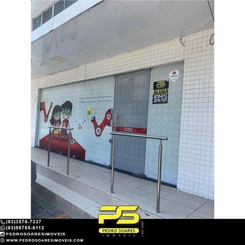 Imagem 1 de 10 de Ponto Para Alugar, 100 M² Por R$ 5.000/mês - Cabo Branco - João Pessoa/pb - Sa0269