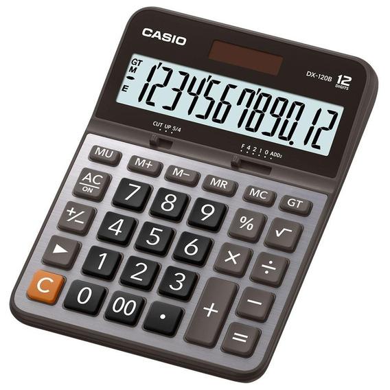 Calculadora De Escritorio Casio Dx-120b