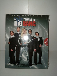 The Big Bang Theory Temporadas 1 A 4 Bluray Originales