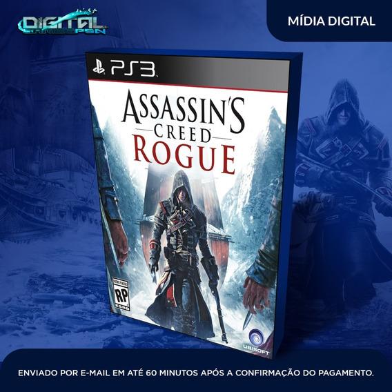 Assassins Creed Rogue Ps3 Psn Jogo Digital Envio Agora!