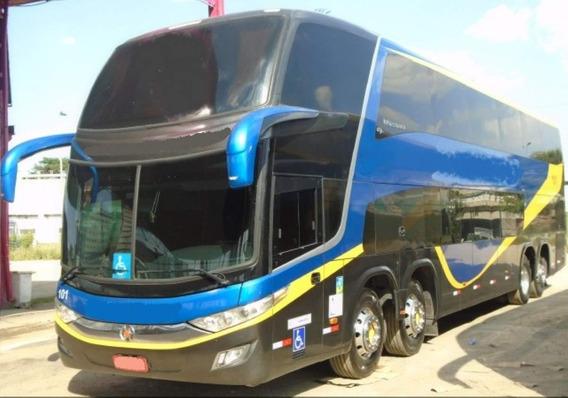 Ônibus Marcopolo Paradiso 1800 Dd Volvo B 450r 8x2 Seminovo