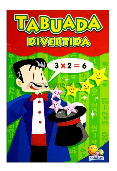 Livro Tabuada Divertida / Todolivro