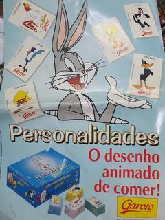 Poster Do Album De Figurinhas Garoto 1994 Pernalonga Raro