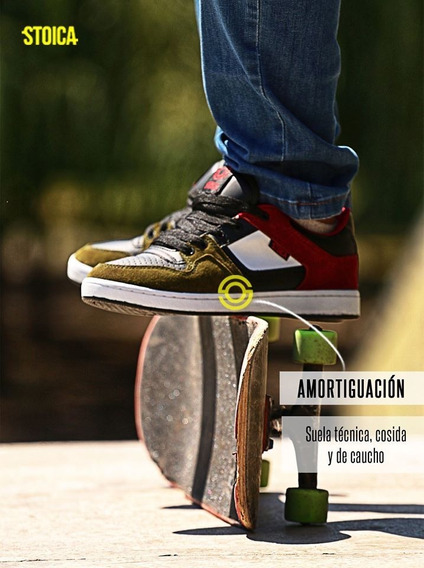 Zapatillas Skate Haley Militar Stoica