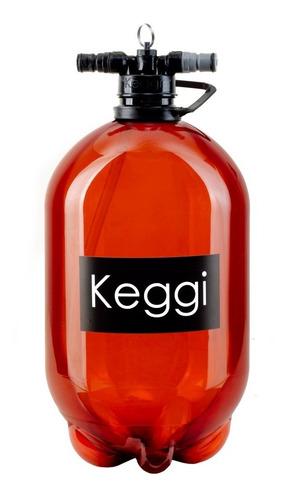 Imagen 1 de 10 de Barril Pet 5 Lts Keggi