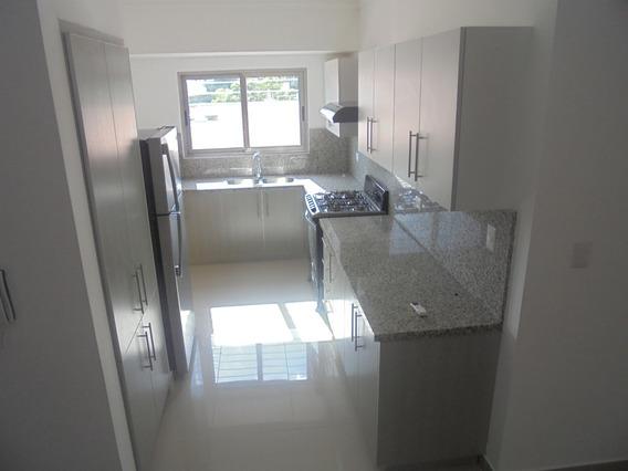 Alquilo!!! Apartamento Con Línea Blanca En Gazcue De 2hab