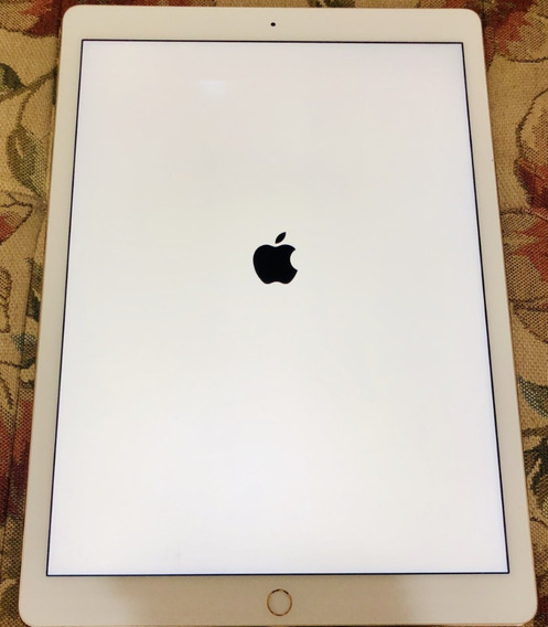 iPad Pro 256gb Gold 12.9 A1584 Novo Zero + Apple Pencil