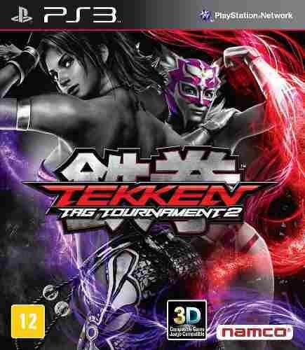 Tekken Tag Tournament 2 - Jogos Ps3 Plastation 3