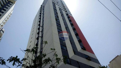 Flat Com 1 Dormitório Para Alugar, 33 M² Por R$ 1.500/mês - Candeias - Jaboatão Dos Guararapes/pe - Fl0030