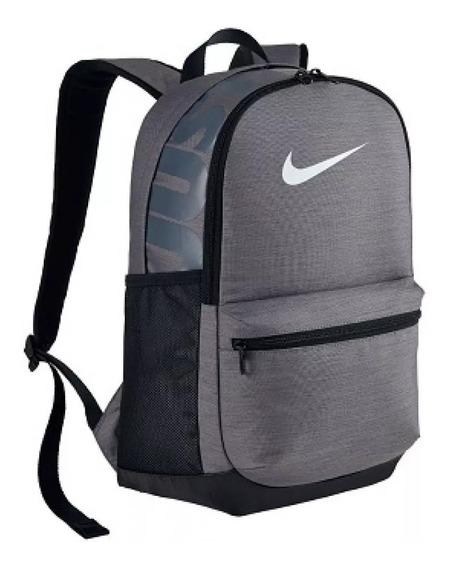 Mochila Nike Brasilia Cinza Original (promoção)