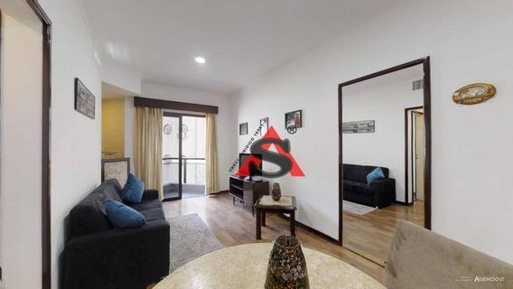Flat Com 1 Dormitório À Venda, 40 M² Por R$ 379.000 - Consolação - São Paulo/sp - Fl0128