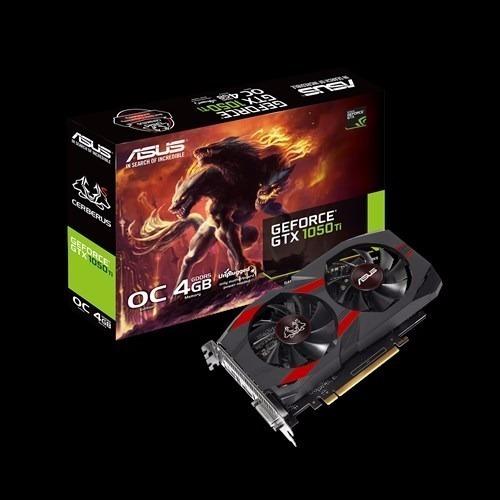 Placa De Vídeo Vga Nvidia Asus Geforce Gtx 1050 Ti 4gb Gddr5
