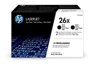 Toner Color Negro (26x) Marca Hp