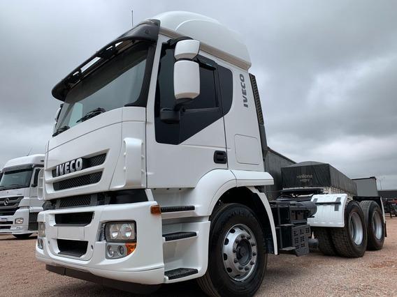 Caminhão Iveco Stralis 410 6x2 2010 Trucado