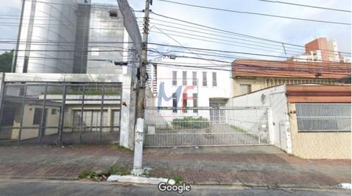 Imagem 1 de 1 de Ref: 12.638 Excelente Prédio Comercial Localizado No Bairro Vila Clementino, 243 M² De A.c, 220 M² De A.t E Frente: 10 M. Zoneamento-zeu - 12638