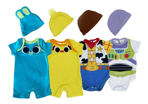 Kit Disney Toy Story De 4 Pañaleros En Algodon