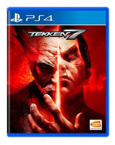 Tekken 7 Ps4 Mídia Física Pronta Entrega