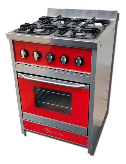 Cocina Tst Corbelli Luxe Color 4 Hornallas 60 Cm