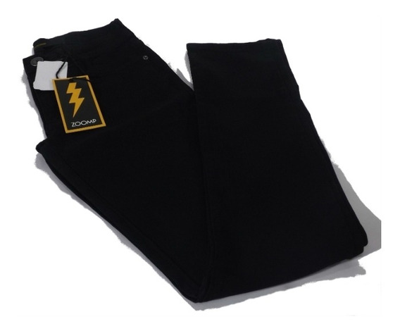 Calça Jeans Zoomp Masc.slim Black-uni000667-universizeplus