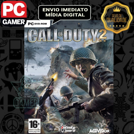 Call Of Duty 2 - Pc Mídia Digital
