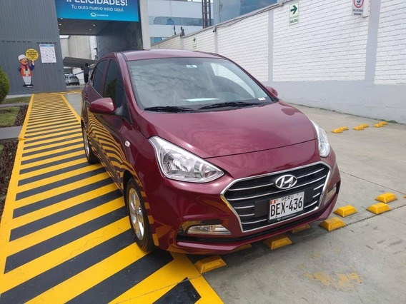 Hyundai Grand I10 Sedan At Rojo Vino