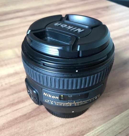 Lente Nikon 50mm F1.4g