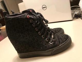 Tenis Zapatos Donna Karan Perfecto Estado Michael Kors 24