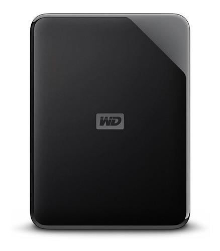 Disco rígido externo Western Digital WD Elements SE WDBJRT0040BBK 4TB preto