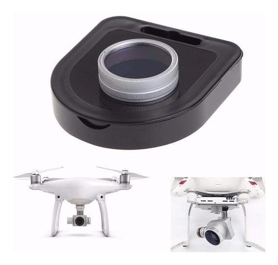 Lente Filtro Nd8 Rosqueável Drone Dji Phantom 3 4 Adv Pro