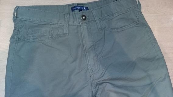 Pantalon Newport, Gabardina, Verde Militar, Excelente Estado