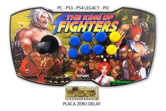Controle Arcade Pc Pi3 Ps3 E Ps4 Legacy