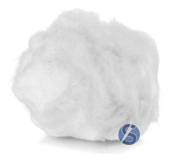 1 Kg Fibra Silicone Anjo 100% Poliéster (enchimentos Geral)