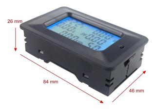Watimetro Voltimetro Amperimetro 80v-250v 100a 6x1 Digital